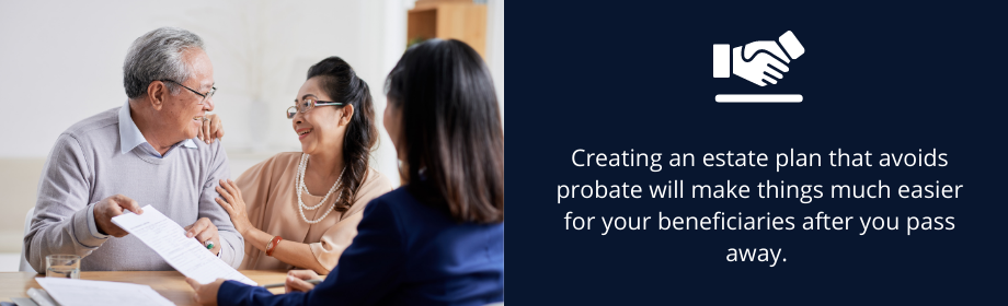 why do people avoid probate