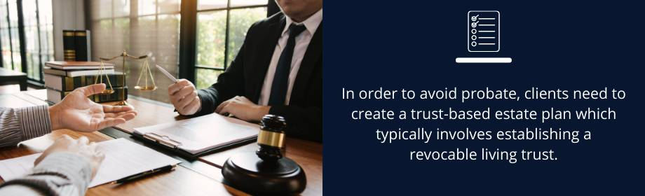 avoid probate through a revocable living trust