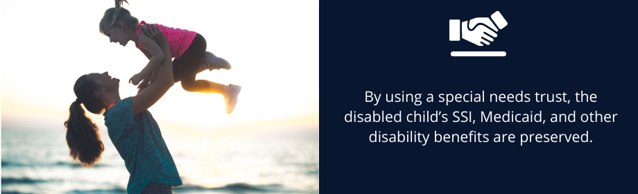 a special needs trust can preserve disability benefits